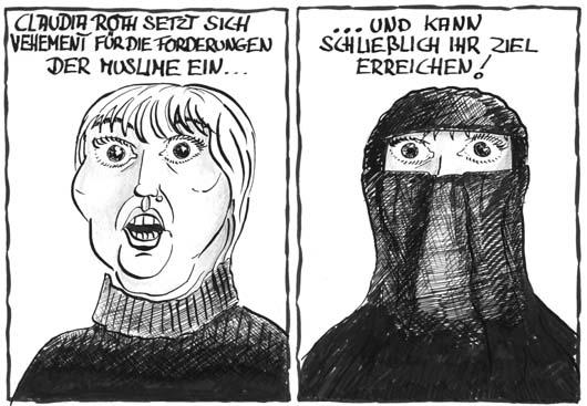 Frau treffen islam